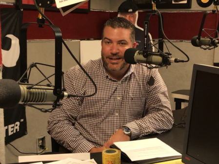 Brett Pizzuto, Business Development Manager with Compensation Solutions, Inc. recording The Successful Micropreneur Podcast in Dublin, Ohio