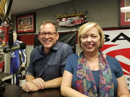 Erik Slangerup, Author and Illustrator of StorySnacker, and Mary McCarthy, the host of The Successful Micropreneur podcast