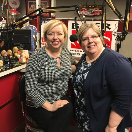 Host Mary McCarthy and Co-Host Sharon DeLay for the podcast Are you charging enough in your business?
