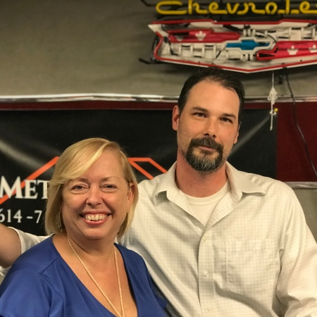 Picture of Christian Billman, Senior Incubation Manager with Alliance Data and Mary McCarthy, host of The Successful Micropreneur Podcast