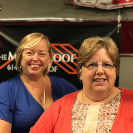 Podcast Host Mary McCarthy and Co-Host Sharon DeLay